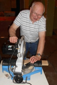 Using the chopsaw