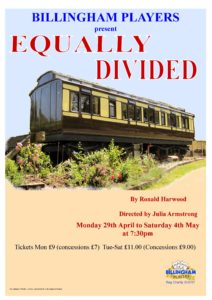 Equally Divided Poster
