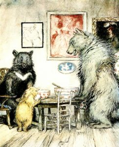 porridge and three bears