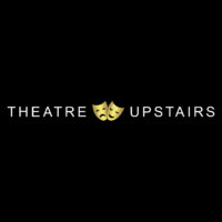 Theatre Upstairs logo with 2 gold theatre masks